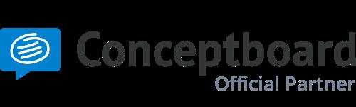Conceptboard Official Partner für Trainings mit Mehrwert
