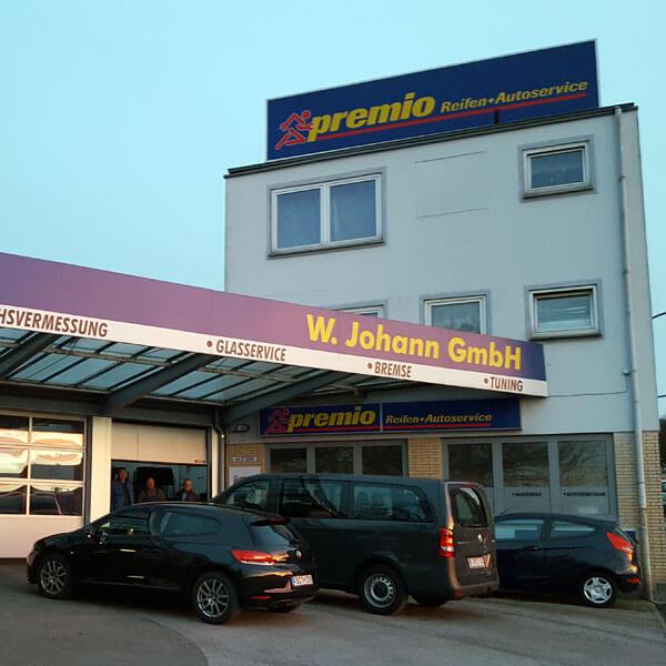 Filiale Reifenfachhandel, premio, W. Johann GmbH